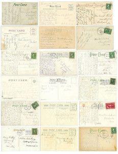 Gráficos gratuitos postal de época