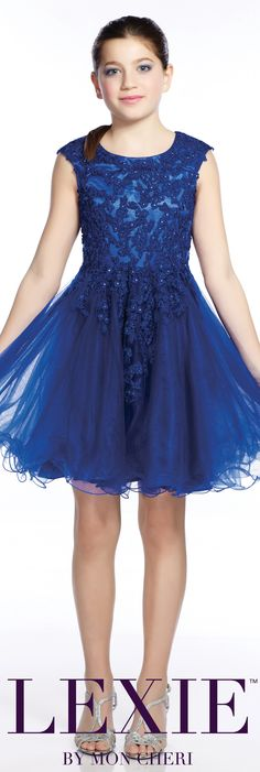 Lexie by Mon Cheri - Tween Formal Dress - Style No. TW21535 moncheriprom.com #8thGradeFormalDress