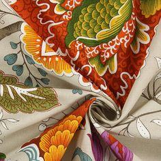 Casandra 2 - Baumwolle - Polyester - terracotta