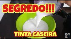 PINTE SUA CASA POR MENOS DE 10 REAIS. TINTA CASEIRA. RECEITA TOP