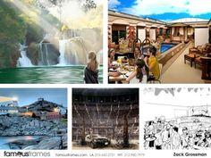 FamousFrames Storyboards, Animatic Artists, Storyboard Artists, Zack Grossman