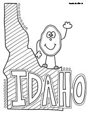 Idaho state symbol coloring page by crayola print or color online Ohio State Coloring Pages Auburn Coloring Pages Pacific Coloring Pages