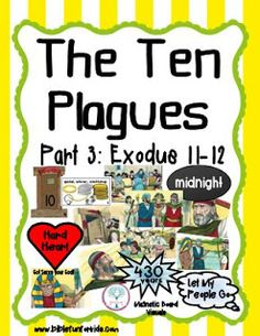 Moses and the 10 Plagues Visuals Part 3