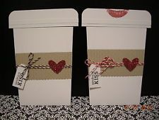 Handmade Greeting Cards - Stampin' Up - Valentine's Coffee Cup 3D
