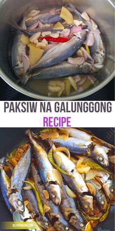 Paksiw na Galunggong Recipe is easy to cook you just need vinegar, water, salt and pepper, ginger then combined it together and wait until it boils, you can keep it in your refrigerator and it will last up to one week.