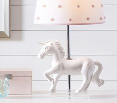 This enchanting unicorn brings the magic of make-believe to your child's room.