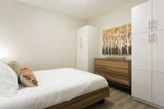 Stylish bedroom layouts in the Jade townhomes, room for a bed, all your clothes and more. Stylish Bedroom, Bedroom Layouts, Townhouse, Jade, Clothes, Furniture, Home Decor, Homemade Home Decor, Clothing