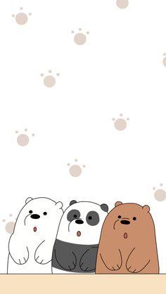 Cute Panda Wallpaper, Cute Pastel Wallpaper, Cartoon Wallpaper Iphone, Bear Wallpaper, Cute Disney Wallpaper, Kawaii Wallpaper, Cute Wallpaper Backgrounds, We Bare Bears Wallpapers, Panda Wallpapers