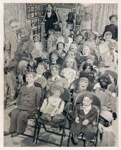 a room full of creepy dummies and yet somehow the ventriloquist and his special monkey are the creepiest