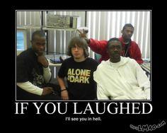 Get a laugh: Alone