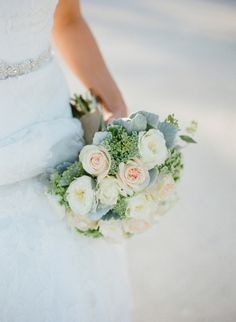 Pretty bouquet: http://www.stylemepretty.com/florida-weddings/florida-keys/islamorada/2015/05/05/romantic-oceanside-wedding-in-the-florida-keys/ | Photography: Jody Savage - http://www.jodysavagephotography.com/
