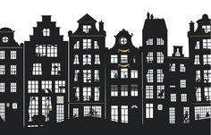 Iconic Buildings - Laura Barrett - Illustration Portfolio - London Based Freelance Silhouette & Pattern Illustrator