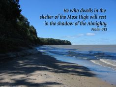 Download Free Christian Wallpaper With Bible Verses: Deserted Beach