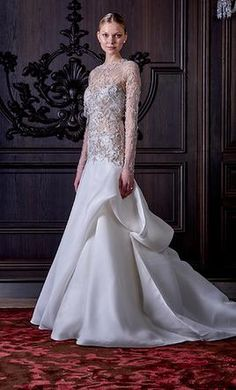 Monique Lhuillier Saphire wedding dress currently for sale at 53% off retail.