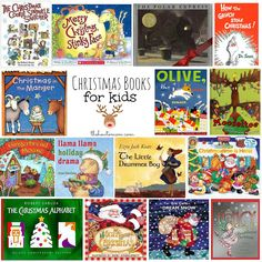 Christmas Books for Kids - over 30 great children's Christmas book ideas. Oh these are some of our favorites!