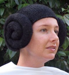 DIY Halloween Costume idea- Knit Leia Wig