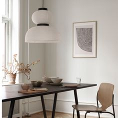 & # Curves & # by Leise Dich Abrahamsen exclusively for THE POSTER CLUB # theposterclub … - Modern Chandeliers Graphic Art Prints, Contemporary Interior, Solid Oak, Scandinavian Design, Painting Frames, Dining Table, Dining Room, Interior Design, Home Decor