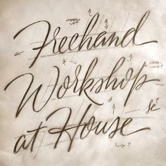 House Industries' website and store Types Of Lettering, Script Lettering, Graffiti Lettering, Calligraphy Letters, Typography Letters, Brush Lettering, Typography Poster, Lettering Design, Amazing Handwriting