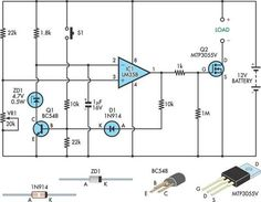 Battery under voltage protection circuit | Electronics Forums