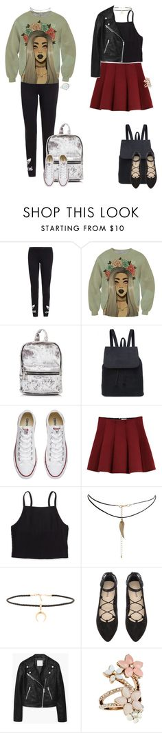 """""""Back to School 1 (2016) READ DESC."""" by elysian-queen ❤ liked on Polyvore featuring adidas Originals, Converse, Outstanding Ordinary, Aéropostale, ASOS, Joolz by Martha Calvo, H&M, MANGO, Accessorize and BackToSchool"""