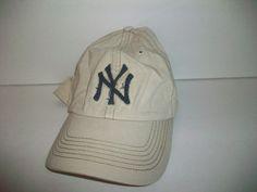 NEW YORK YANKEES FITTED SIZE 7 1/2  TWINS 47 RUN DOWN DISTRESSED CAP FREE SHIP #TwinsEnterprisesInc #NewYorkYankees