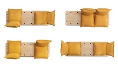 facile sofa, transforming furniture, marco gregori, green design, sustainable design, formabilio, green interiors, sustainable interiors, gr...