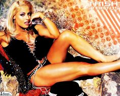 Hd Wallpaper And Background Photos Of Trish Stratus For Fans Of Wwe Divas Images