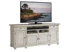 Oyster Bay Kings Point Large Media Console | Lexington Home Brands