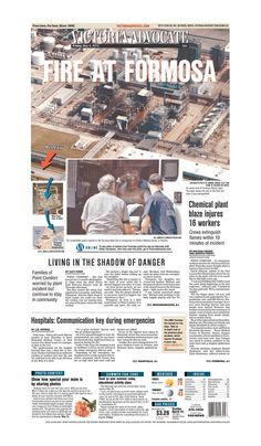 Here is the front page of the Victoria Advocate for Friday, May 3, 2013. To subscribe to the award-winning Victoria Advocate, please call 361-574-1200 locally or toll-free at 1-800-365-5779. Or you can pick up a copy at one of the numerous locations around the Crossroads region.
