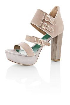 RHODORA   High Cut Banded Sandal in Nappa and Kidsuede     www.whoisschee.com  https://twitter.com/WhoIsSchee  https://www.facebook.com/whoisschee
