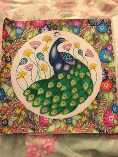 Completed Peacock From Millie Marottas Animal Kingdom