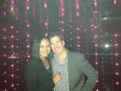 David Sarner and Ann Suwanjindar at Pink Elephant
