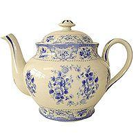 lovely blue teapot