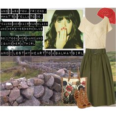 The Galway Girl, created by christenjune on Polyvore