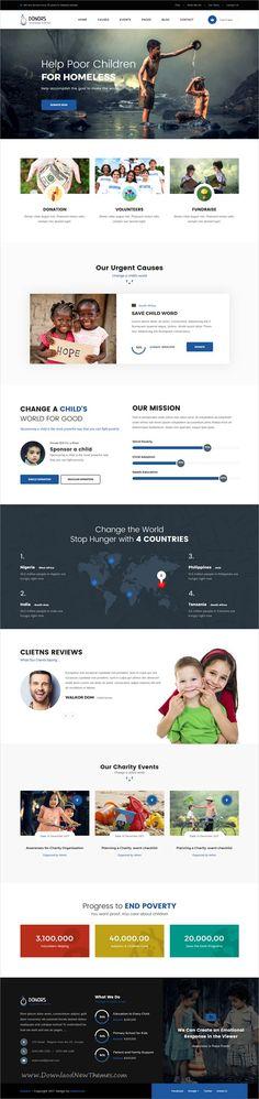 bluefox u2013 eCommerce PSD Template Psd templates, eCommerce and - ngo templates