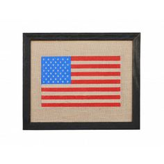 AMERICANA FLAG STARS AND STRIPES HOME DECOR OUTLET COVER