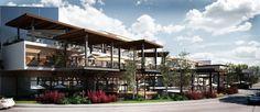 Resultado de imagen para plazas comerciales modernas al aire libre