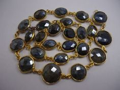 Labradorite-Coated-gemstone-Fancy-cut-Women-Fashion-Connector-Necklace-19-Long
