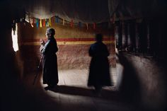 Tibet.  Silhouettes & Shadows | Steve McCurry