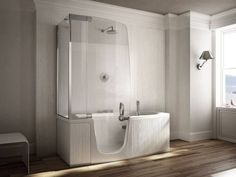 Vasca da bagno con doccia 382-384-385 by TEUCO