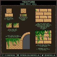 Pixel Art Tutorials by Sadface_RL Pixel Art Tutorials by Sadface_RL<br> How To Pixel Art, Piskel Art, 2d Art, Pixel Art Background, Arte 8 Bits, Pixel Characters, 2d Game Art, Retro Poster, Pixel Animation