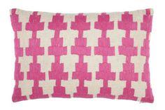 John Robshaw Textiles Phulkari Kandi decorative pillow