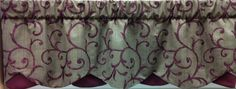 "Echelon 50"" w Petticoat Valance in Cordovan also available in Bamboo for $54.99. To Order Call toll-free 877-722-1100"