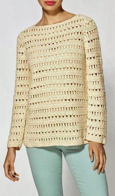 crochet sweater, lace