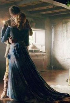 the secret meeting between Freya and Thomas in the castle. This is all being done behind Cinderella's back