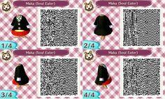 QR Code Animal Crossing- Maka (Soul Eater) by Lorenius11.deviantart.com on @deviantART