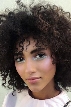 10 Celebrity-Approved New Year's Eve Glitter Hair and Makeup Ideas   Teen Vogue
