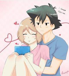 #Pokémon #Amourshipping #SatoSera