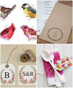 Quick 10. FREE printable tags for your d.i.y inspired day.