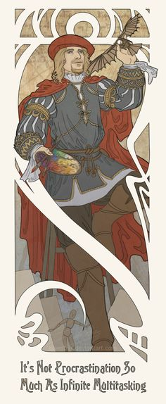 Assassins Creed Leonardo Art Nouveau